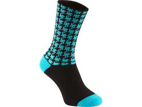 MADISON Isoler Merino deep winter sock, blue curaco houndstooth