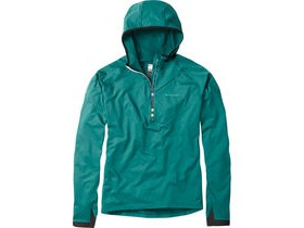 MADISON Zenith men's long sleeve hooded top, oak green