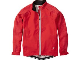 MADISON Sportive Hi-Viz youth waterproof jacket, flame red