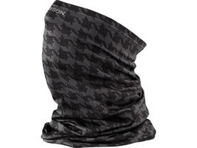 MADISON Isoler Microfiber neck warmer, black houndstooth one size