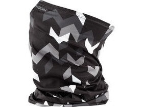 MADISON Isoler Microfiber neck warmer, black chevron one size