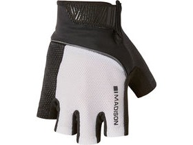 MADISON Sportive men's mitts white/black