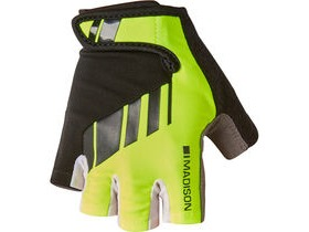 MADISON Peloton men's mitts hi-viz yellow