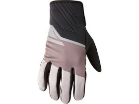 MADISON Sprint men's softshell gloves flame black blocks