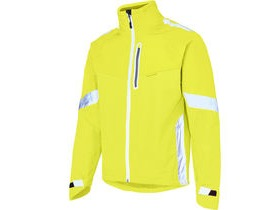 MADISON Protec men's waterproof jacket, hi-viz yellow