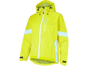 MADISON Prima women's waterproof jacket, hi-viz yellow