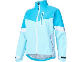 MADISON Protec women's waterproof jacket, caribbean blue/blue radiant
