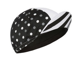 MADISON Sportive poly cotton cap hex dots black/white one size