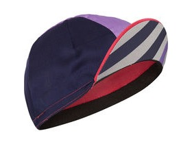 MADISON Sportive poly cotton cap block stripe pink glo/deep lavender one size