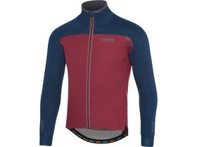 MADISON RoadRace Premio men's softshell jacket, ink blue / classy burgundy