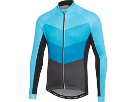 MADISON Sportive men's long sleeve thermal jersey, chevron blue / phantom