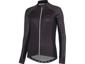 MADISON Sportive women's long sleeve thermal jersey, geo camo black